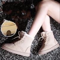 HOT SALE 2014 Winter snow boots Duantong Woman  cotton flat boots snow boots winter boots women shoes tide shoes