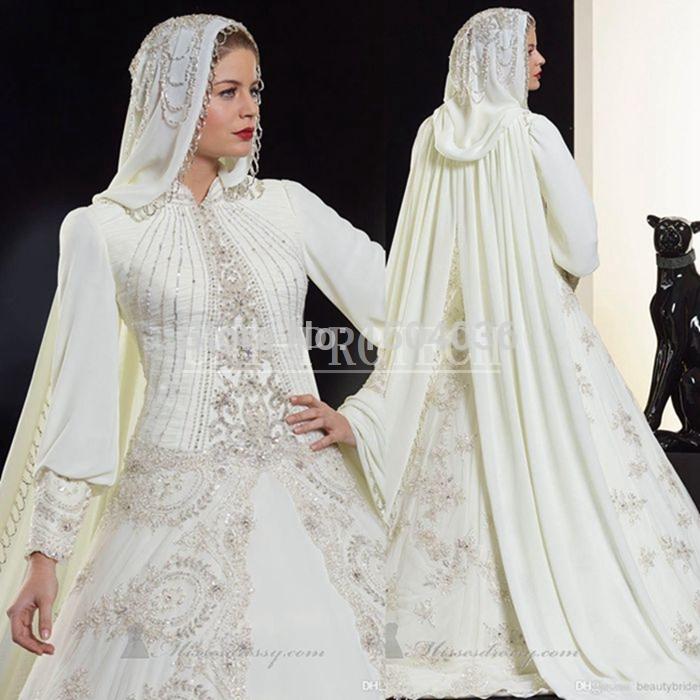 Modische abayain dubai kaftan muslimischen hochzeitskleid 2015