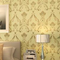 Modern Damask Fabric Yarn  Wall Paper luxury  papel de parede rolo zk08 home decor  para quarto vintage