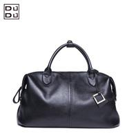 New branded women's leather bag fashion vintage solid color genuine leather handbag cross-body one shoulder messenger bags