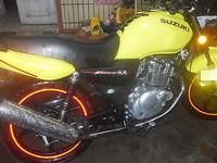 6 X Wheels Rim Stripe Reflective Decal Tape Sticker Motorcycle 12
