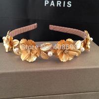 2014 new fashion Korean style Stars love flowers shaped fine hair hoop pressure head hoop hair accessories wholesale
