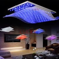 4 color conversion 2014 Fashion Crystal Ceiling Chandelier LED Chandelier Modern Living Dining Crystal Lighting lustres