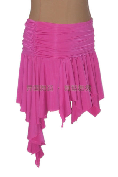 Exotic dance ballroom dancing Latin dance grasp knit waist irregular swing Latin exercise skirt S11070