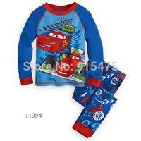 Free Shipping 2015 New Arrival Pajamas 100% Cotton Baby Pijamas Kids sleepwear clothing Boys Pyjamas Children's wear 6set/lot