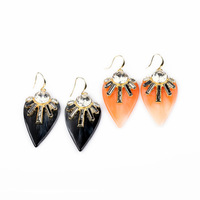 CHICKEN HEART strawberry decent party dangle earring bijou brinco woman gift free shipping ed00716