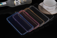 200pcs/lot Free Shipping Fashion Ultra Slim TPU Back cover for iphone 6 4.7inch Soft case protective for iphone 6