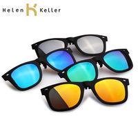 Helen Keller Brand Designer Clip For Drive  UV Protection Unisex Sunglasses Polarized Clips HP806