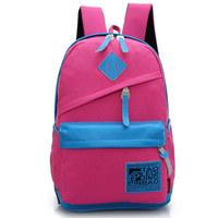 11 colors new canvas Korean girls backpacks for school backpacks female bag backpack designer College backpacks school bags kids