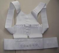 2pcs/lot Magnetic Posture Support Corrector Back Pain Feel Young Belt Brace Shoulder for Sport Safety! in OPP Bag