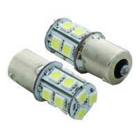 1156 13 SMD 5050 BA15S LED White Light Bulb Turn Signal White Light Bulb Lamp 12V led brake Light