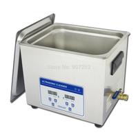 skymen ultrasonic factoy digital timer&heater with sus basket ultrasonic cleaner 10l
