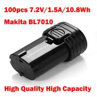 7.2V 1500 mAh battery BL7010 for Makita TD020D DF010DSE 194355-4 194356-2