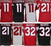 Arizona larry Fitzgerald football jersey tyrann Mathieu patrick peterson american football Jersey AAA+quality(Sew name and No.)