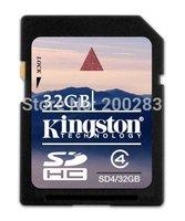 Good Quality Original SD Card Class 4 SDHC Flash Memory Card for Camera PC SD4
