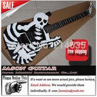 LP Manufactory Top Quality Custom Shop Guitar Electric Guitar,Skull Guitar Import Hardwares