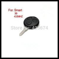 High quality Smart3 remote key 3 button 433MHZ 3 Button Remote Key for MecerdesBenz Smart Fortwo 433Mhz no logo  0101139