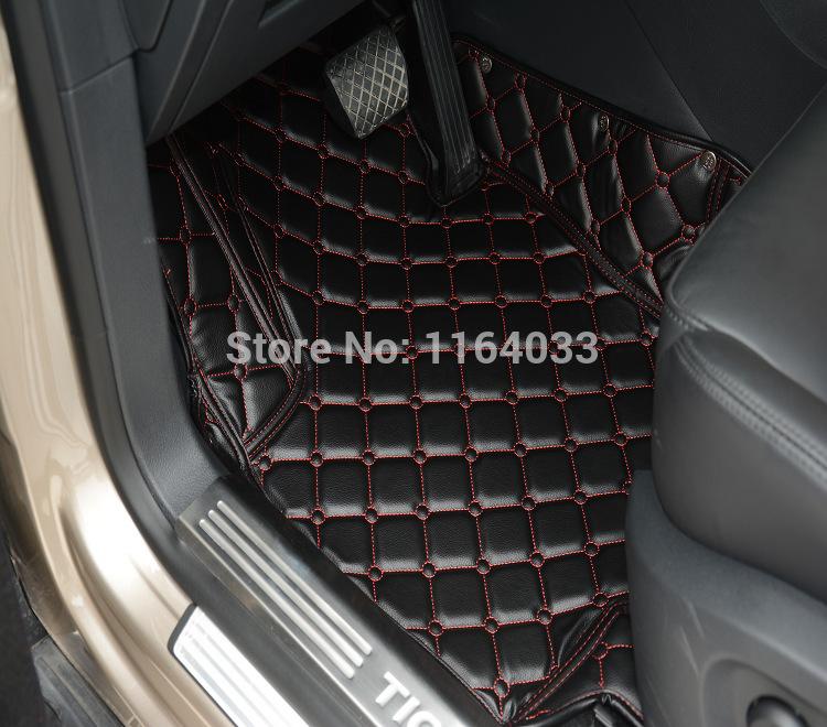 car accessories foot mats non-slip mats FOR Land Rover executive Edition Environmental tasteless mats black brown rice(China (Mainland))