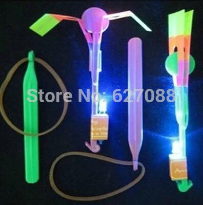 Newest toy LED Amazing arrow helicopter,Flying umbrella,Space UFO,LED helicopter Creative 5pice/lot(China (Mainland))