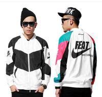 FREAKISH Tide brand original 2014 autumn and winter coat NXKE spoof baseball uniform jacket