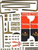 RC Model Decal Sticker FACEWORX FWO000 F1 Lotus 2012 Decals-L
