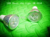 5pcs/lot 6w gu10 ac85-265v LED Bulbs Spotlight white/warm white Professional lighting spotlights