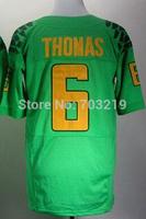 Oregon Jerseys 6 De'Anthony Thomas Jerseys Cheap Oregon College Football Jersey Free Shipping