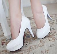 size 34~42 ladies Women's Pumps Sexy Vintage Bottom Platform High Heels Shoes women's wedding shoes size 34-39 4 colors P009