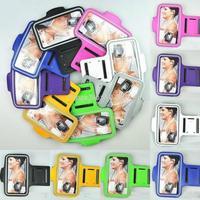 """100pcs/lot Sport Gym Running Armband Belt Soft Case Protective Bag Holder for iPhone 6 6G 4.7"""""""