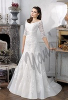 Lace Bridal Wedding Dress Wedding Gown Custom Size 6809