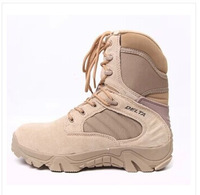 Delta Brand Military Tactical Boots Desert Combat Outdoor Army Hiking Travel Botas Shoes Leather Autumn Ankle Men Boots