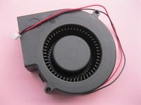 6 Pcs Per Lot Brushless DC Cooling Blower Fan 9733S 5V 97x33mm 2 Wires Black Brand New High Quality HOT Sale
