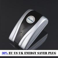 Wholesale New Power Electricity Save Saving Energy Saver Box Save 30% Device EU US UK energy saver plug With Retail Box