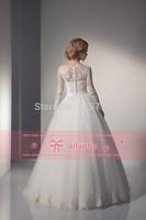 Vintage Princess Wedding Dresses Princess Wedding Dresses Long Sleeve High Neck Arial vestido de noiva com manga comprida 2015