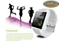 Chrsitmas U Watch U8 Plus Bluetooth 4.0 Smart Wrist  Watch Compatible Android OS & IOS Sync Phone Call & SMS Compass Pedometer