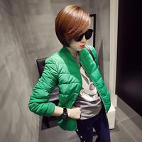 Autumn winter women's fashion cotton top warm down coat, women warm cotton jacket,  factory outlets