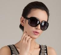 Lovey wholesale 10pcs/lot fashion women designer 3043 sunglasses oversized big round frame uv400 eyeglasses