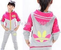 children outerwear boys sport set jogging jacket pants girls clothing sets kids baby track suit shampooers spring autumn clothes