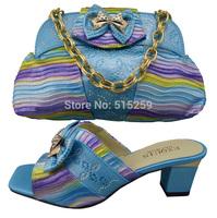 Italian Fashion Wedding Shoes And Bags To Match Women Free Shipping GF-10-4