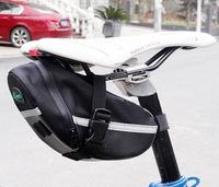 The wholesale Bicycle quick dismantling tail mountain bike road car cushion BAG KIT band [] saddle bag