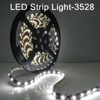 5pcs/lot 5M Christmas non Waterproof 3528 RGB LED Strip Light 24/44key RGB Remote Control + 12V 2A Power Supply(EU/US/AU plug)