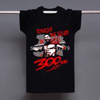 Gym Bodybuilding MMA Training Shirt Tonight We Squat In Hell Casual Fashion Tee T-shirt Men Camiseta Clothing T shirt Camisa