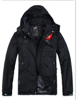2014 New Men's Down jacket With Hood Duck Down Winter Overcoat Outwear Winter Coat Free Shipping Wholesale And Retail