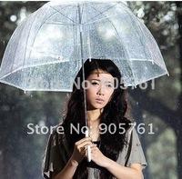 New Style Fast Shipping wholesale(10pieces/lot) Transparent Umbrella Stick Umbrella Apollo Princess Umbrella free shipping