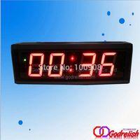 "Godrelish 2.3"" Red Led Countdown Timer 4 digital Led digital clock"