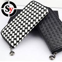 Free Shipping  Fashion Large Zip walletNew Large Zip wallet   casual wallet Portemonnaie portefeuille Long section Wallet