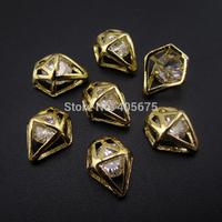50pcs Diamond Shape Zircon stone nail art decorations scrapbooking tools MNS780