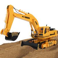 Remote control engineering truck toy rc bulldozer excavator toy car remote control 3 version 15channels best kids birthday gift