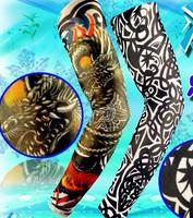 Prison Break tattoo sleeve tattoo arm sleeve cuff men big flower sun sleeves arm sleeves riding