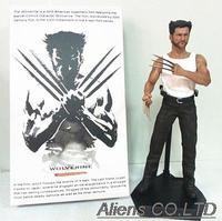 The WOLVERINE 1/6TH Scale Collectible pvc Figure 12 inch Hugh Jackman Statue Marvel X-MAN logan Crazy Toys